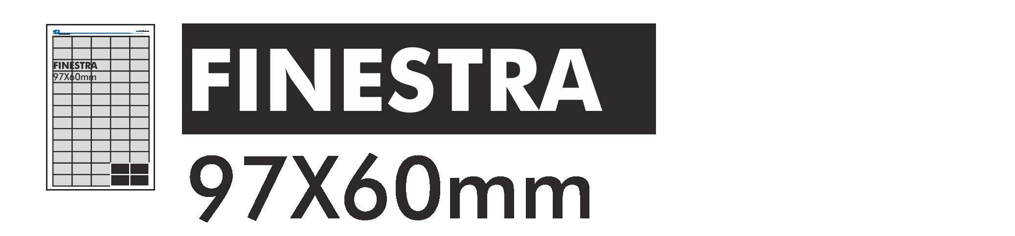 Finestra 97x60mm