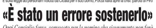 CRONACHE LUCANE, L'EDIZIONE DI OGGI